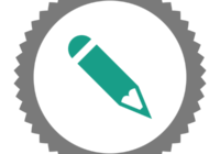 """Badge icon """"Pencil (347)"""" provided by The Noun Project under Creative Commons - Attribution (CC BY 3.0)"""